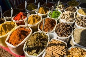 Colourful Anjuna Flea-Market in Goa, India