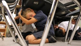 Californians Take Part In Statewide Earthquake Drill