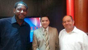 Pastores Marvin Calderón y Jeffrey Johnson