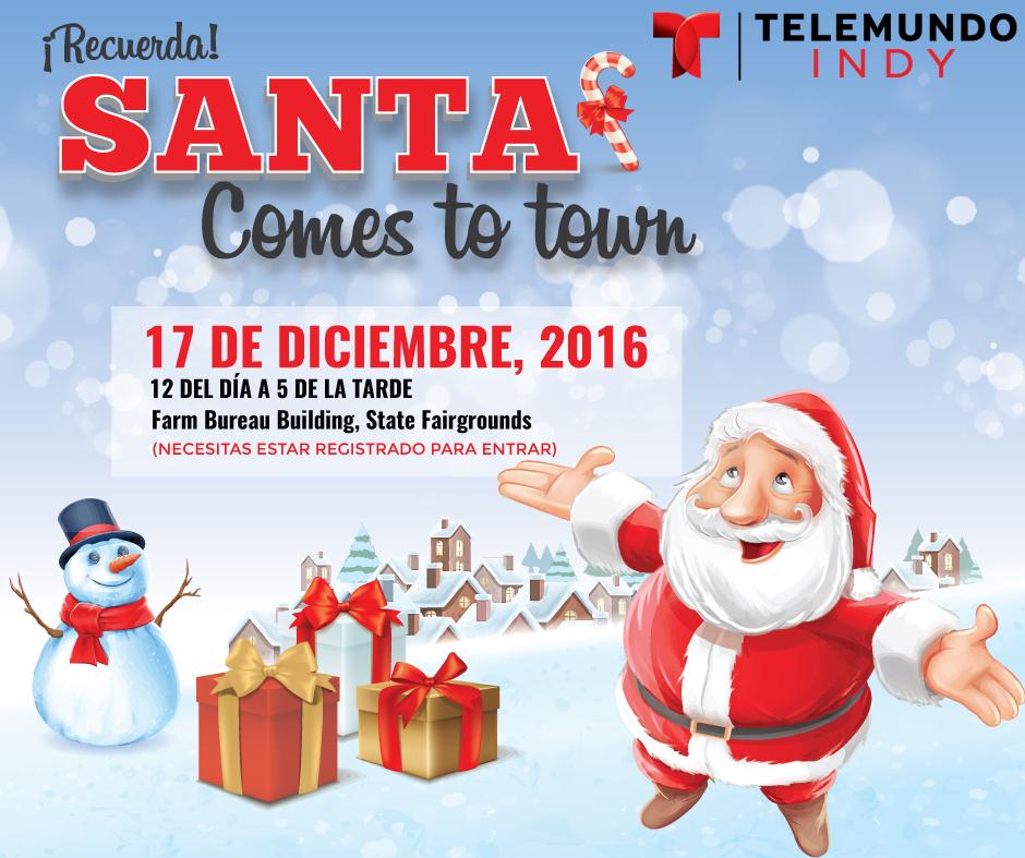 Santa Comes to Town