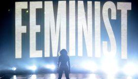 Beyonce Feminist VMA