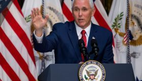 Vice President Mike Pence Attends Infrastructure Summit Working Luncheon