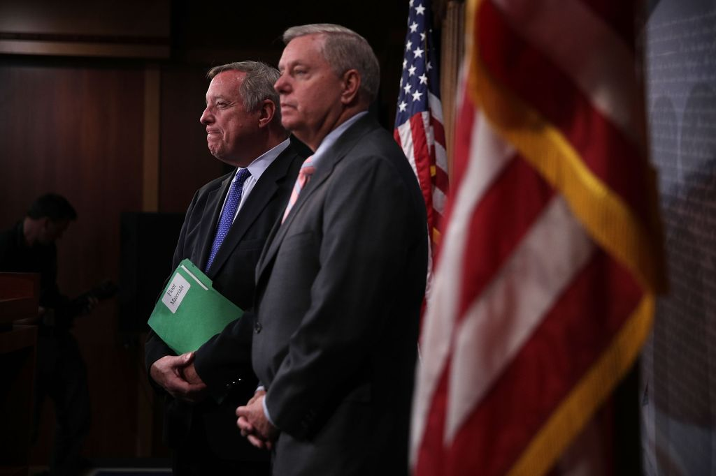 Senators Dick Durbin And Lindsay Graham Introduce Bipartisan DREAM Act