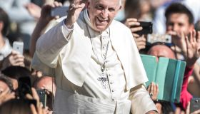 Pope Francis Leads A Canonisation Ceremony