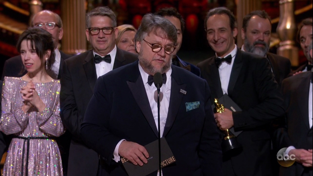 The 90th Academy Awards as seen on ABC.