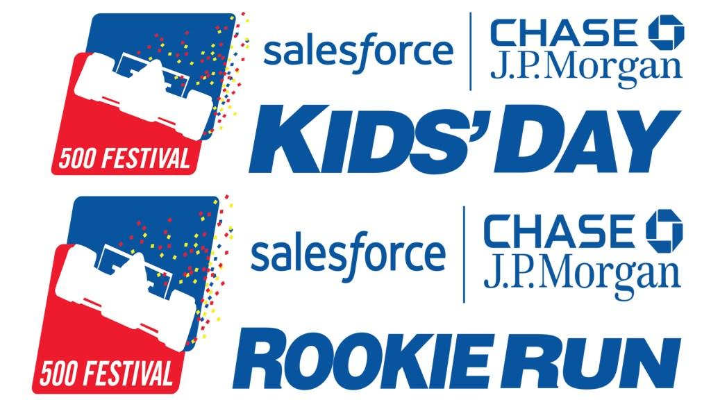 500 Festival Kids Day & Rookie Run Flyer