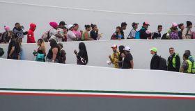 migrant caravan Trump tweeted about arrives in Tijuana, Mexico
