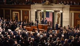 Emmanuel Macron Speaks To Joint Session Of US Congress
