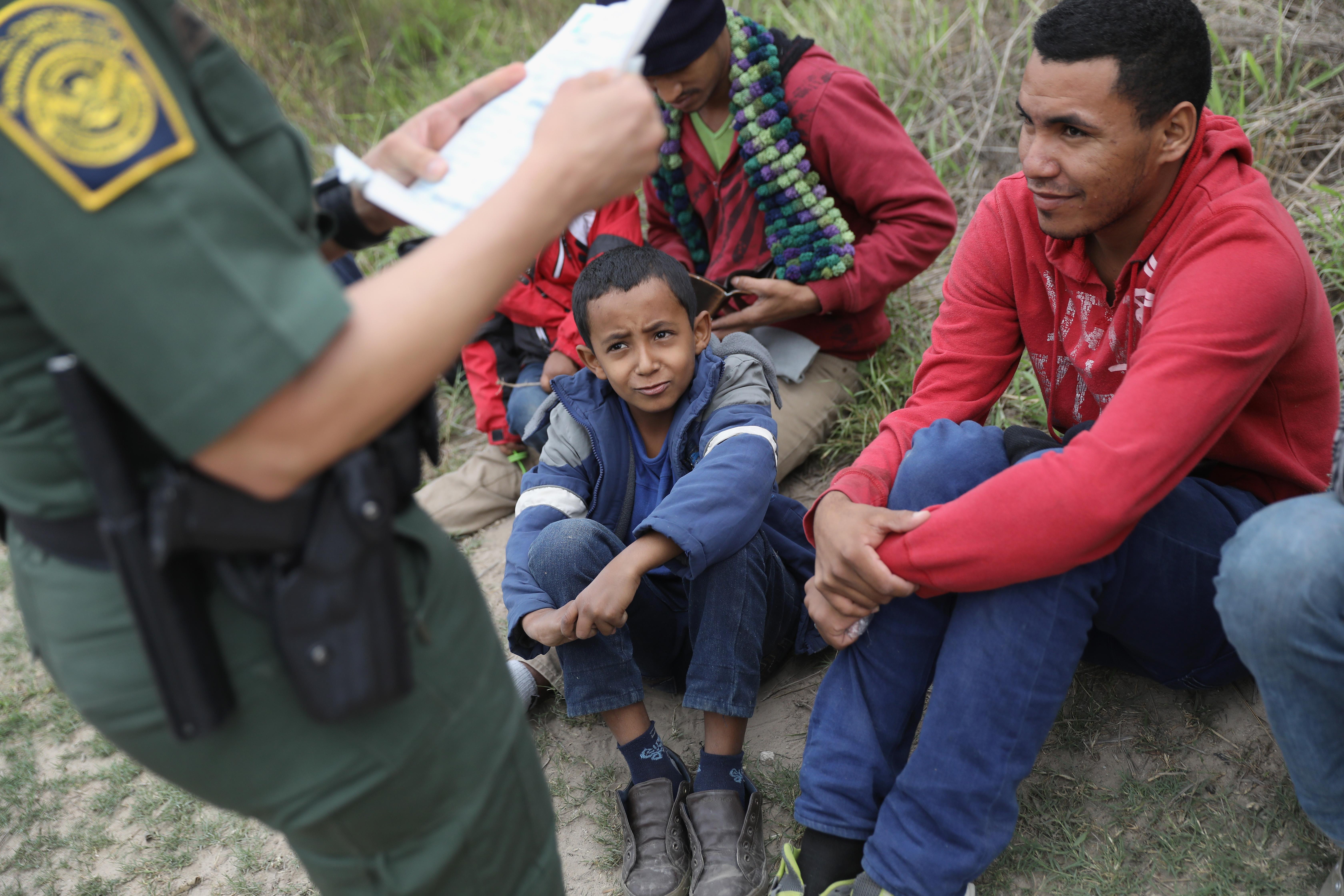 Immigrants Surge Across Border Ahead Of Trump Inauguration