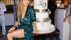 Jennifer Lopez Celebrates Her Birthday With A Lavish Party At The Nobu Villa Atop Nobu Hotel at Caesars Palace