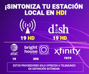 Telemundo Indy HD channel positions