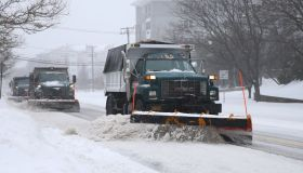 Northeast hit by snowstorm in United States