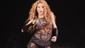 Shakira performs live on her 'El Dorado World Tour' at the WiZink Center
