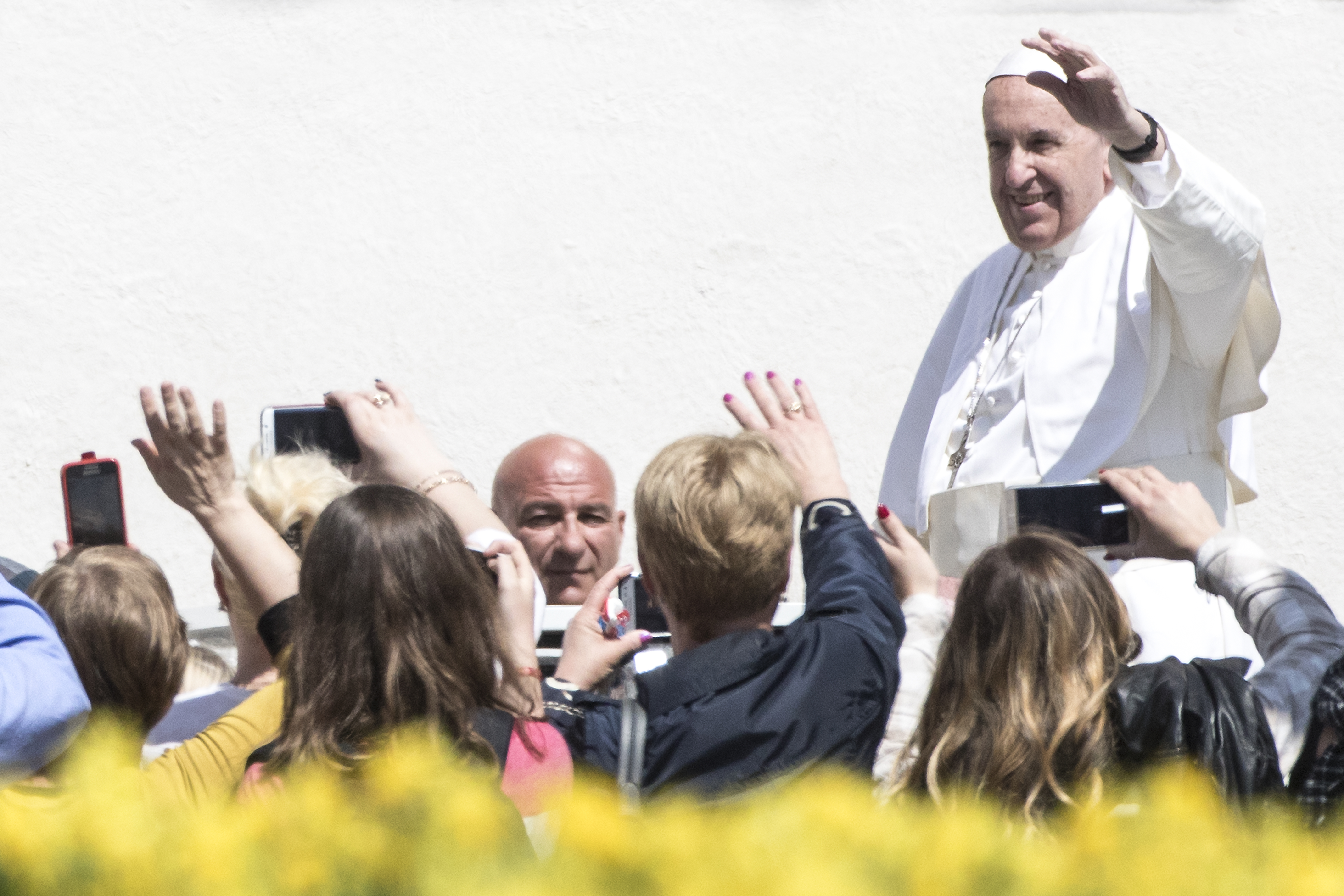 Pope Francis Holds The Easter Mass and Delivers His Urbi Et Orbi Blessing...