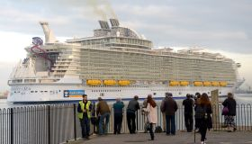 Harmony of the Seas arrives at Port of Southampton
