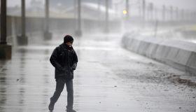 Storm Dennis arrives in Scotland