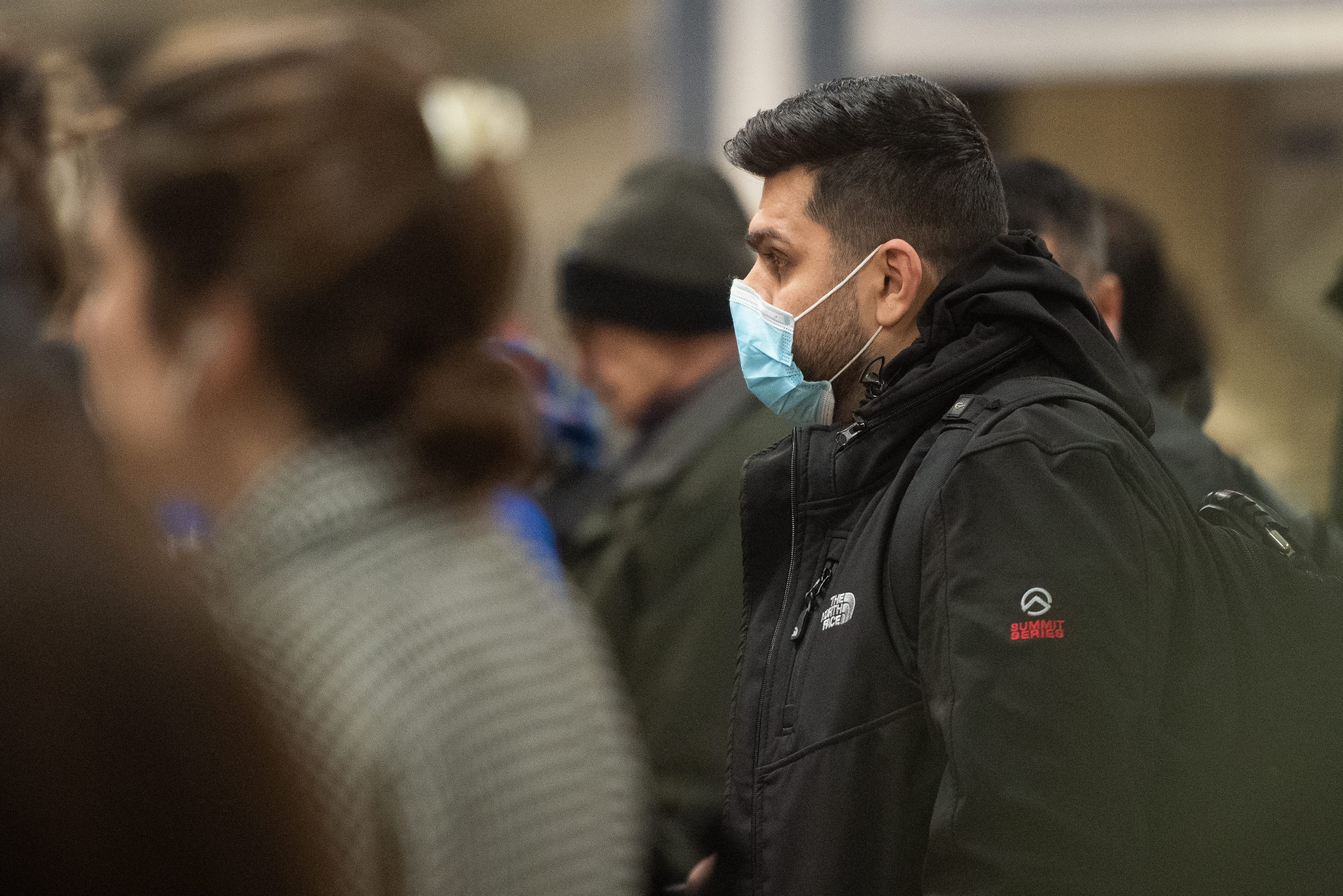 Coronavirus General View - Tuesday 3 March 2020 - London Tube, London