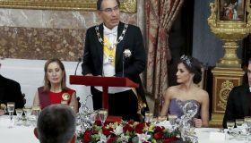 Spanish Royals host a Gala Dinner