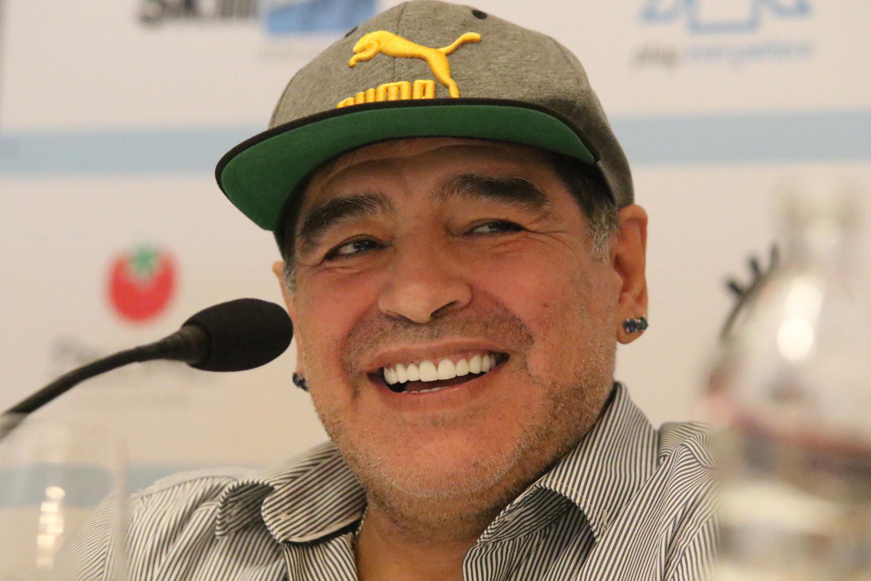 Diego Maradona is granted honourary citizenship of the city of Naples, Italy