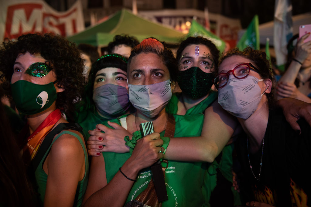 Congress approved a bill that legalize abortion in Argentina
