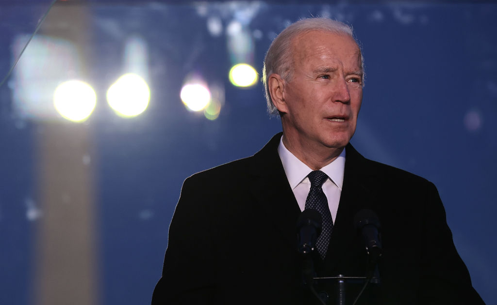 COVID-19 Memorial Service Held In Washington On The Eve Of Biden's Inauguration