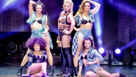 Britney Spears performs on her 'Piece Of Me' tour