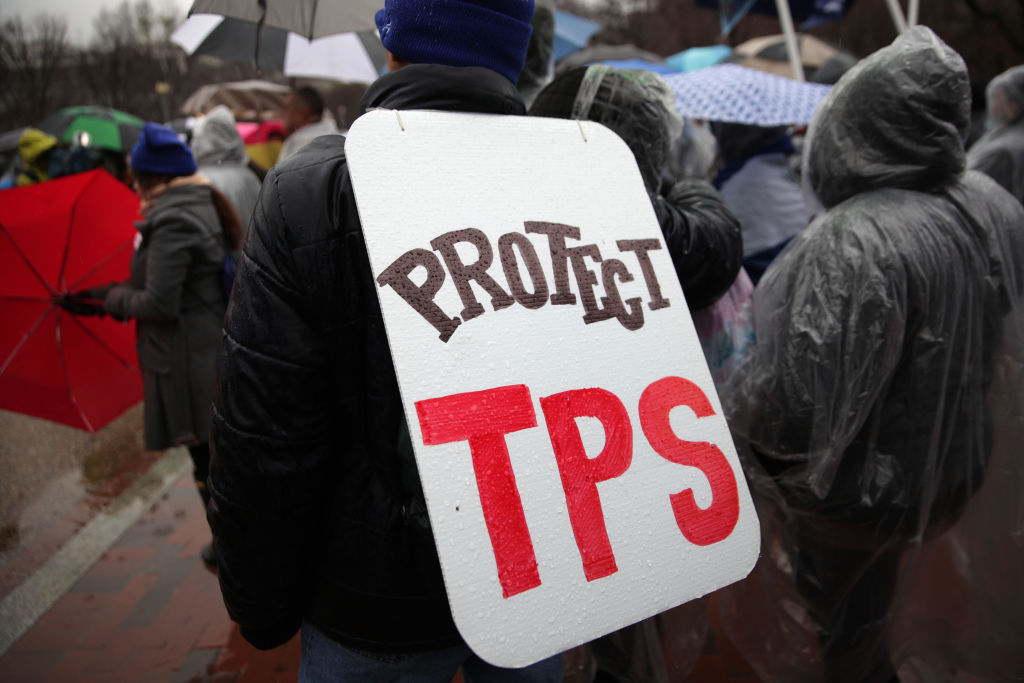 Activists Rally For Permanent Protections For Temporary Protected Status (TPS) Holders