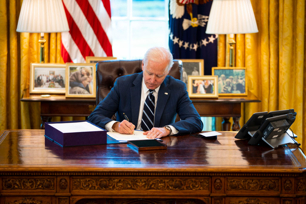 President Biden Signs American Rescue Plan Into Law