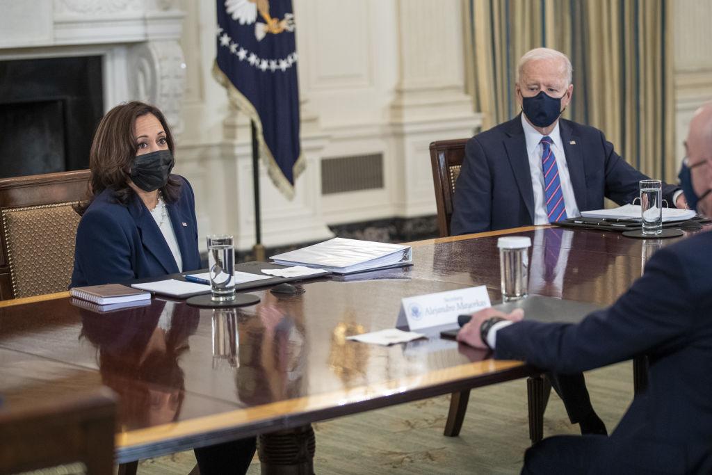 President Biden Holds Meeting On Immigration