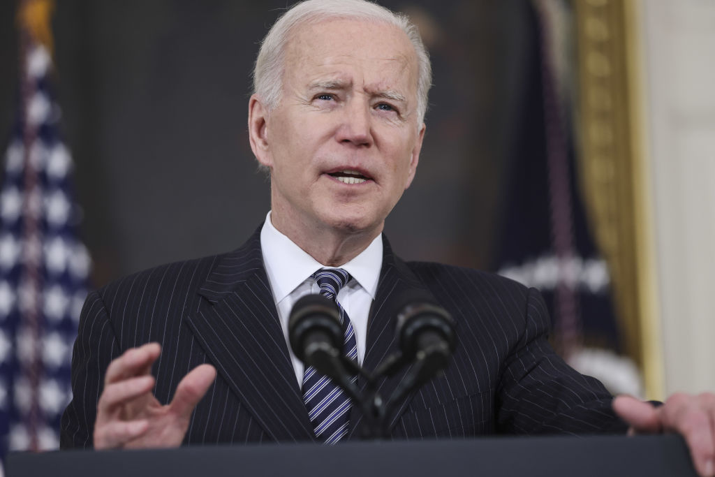 President Biden Delivers Remarks On State Of Covid-19 Vaccinations