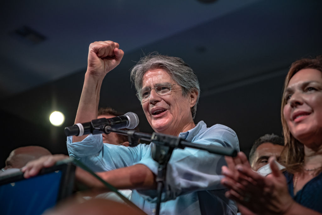 Ecuadorians Vote In Runoff Of Presidential Elections