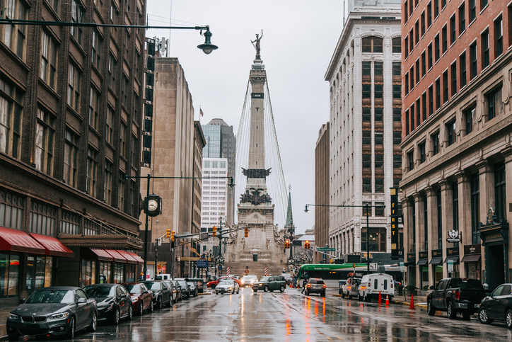 Monument Circle (street view)