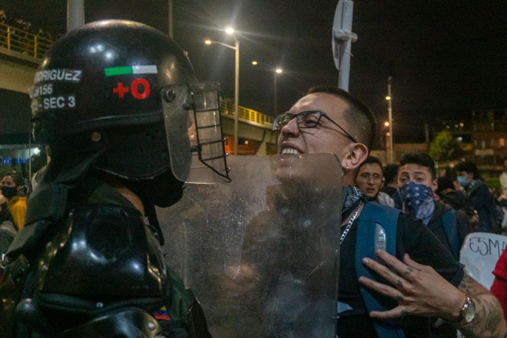 Bogota's Seven Day Of National Strike Against Tributary Reform