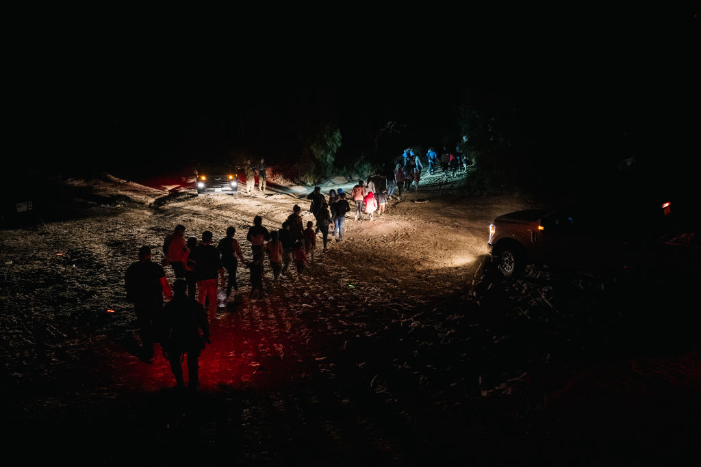 Border Crossings By Migrants Surge To Highest Levels Since 2006