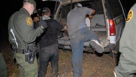 U.S. Border Patrol arrests Undocumented Migrants at Border