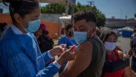 Coronavirus - At the border between Mexico and the USA