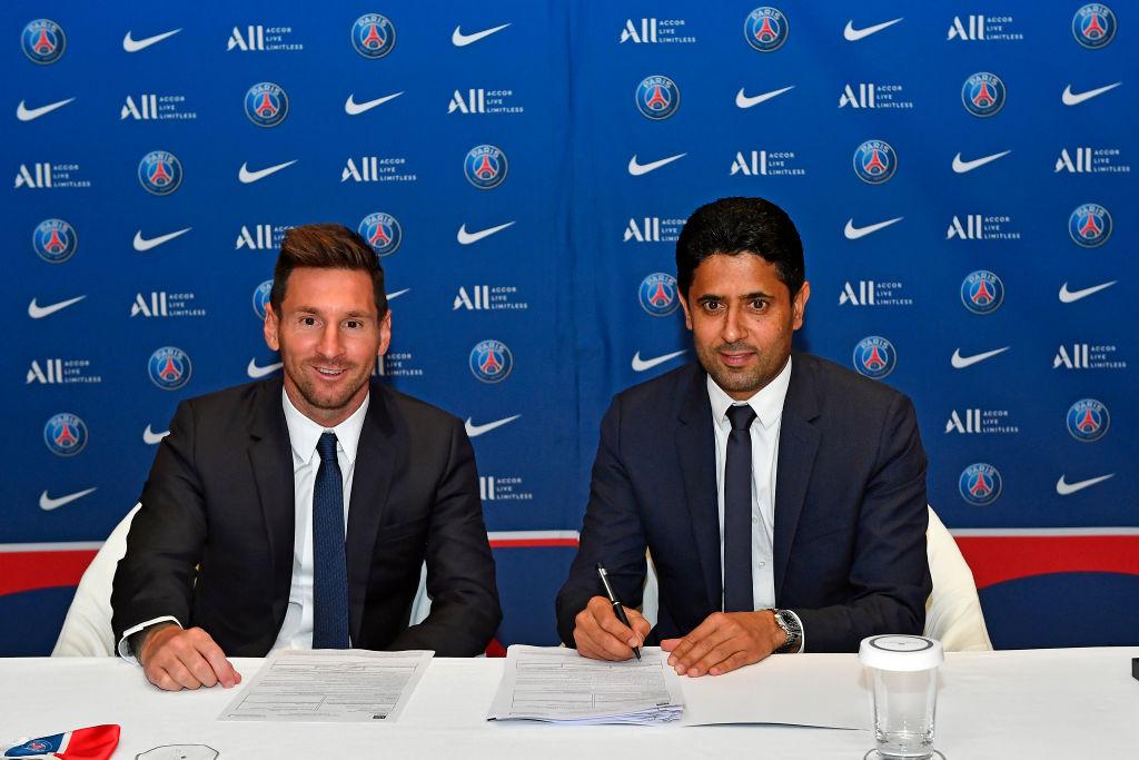 Paris Saint-Germain Unveil New Signing Lionel Messi
