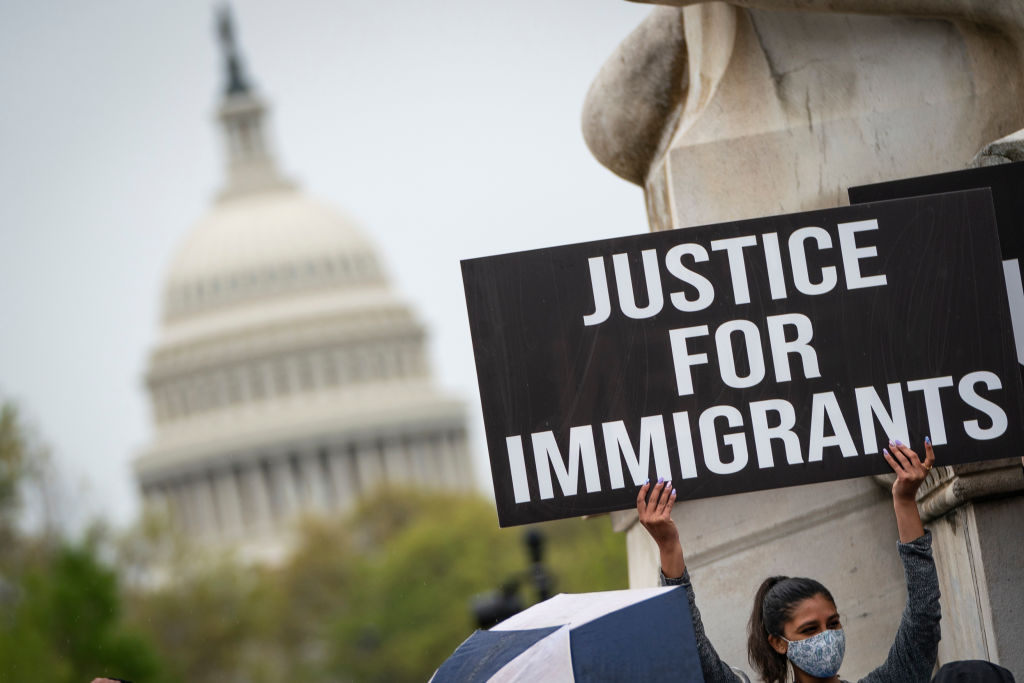 Activists With Temporary Protected Status Rally For Passage Of SECURE Act