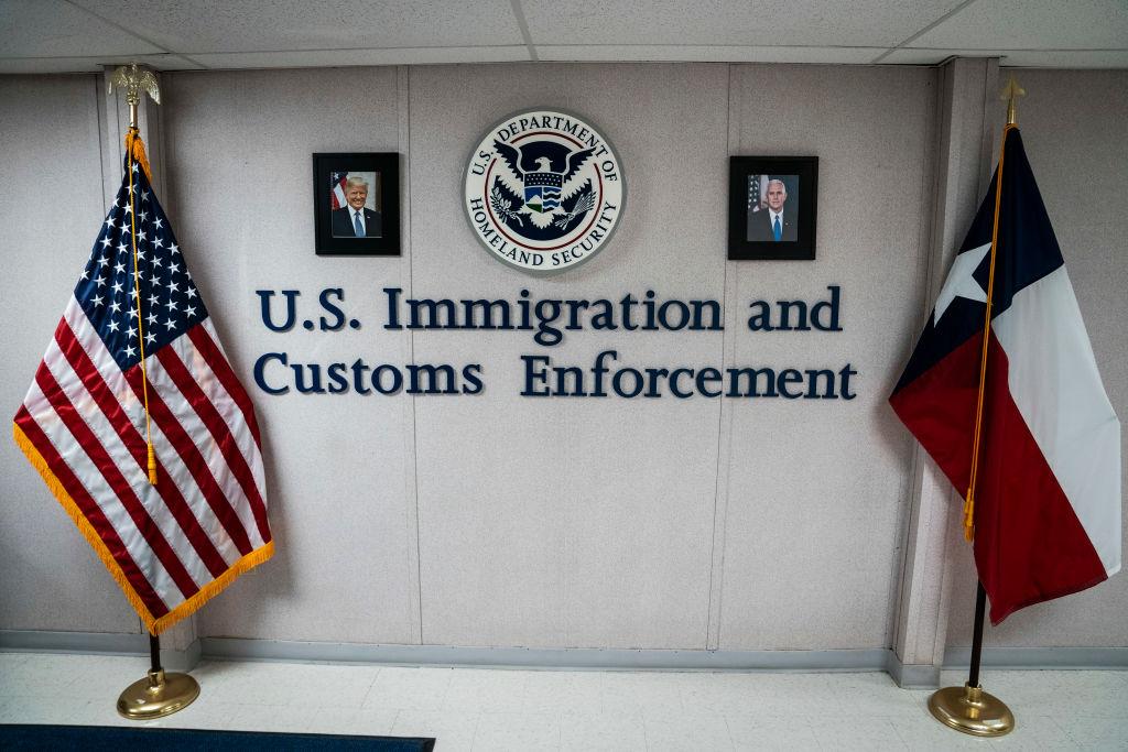 U.S. Immigration and Customs Enforcement Dilley Texas President Donald J. Trump