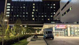 Eskenazi Hospital Night